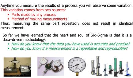 Análise dos Sistemas de Medição (MSA)